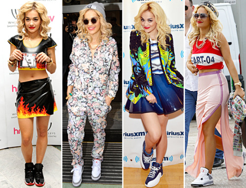 Rita Ora in Sneackers