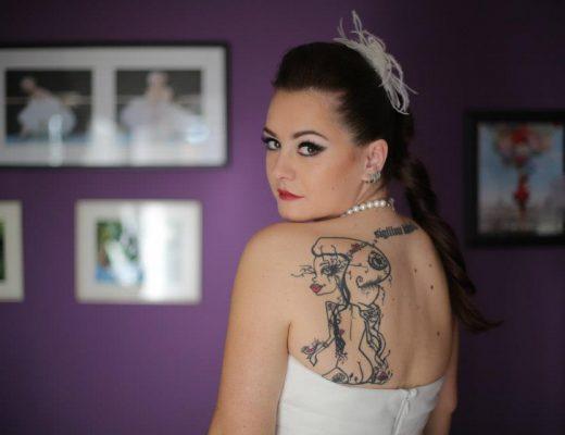 tetovirana, a majka